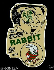 ONE EYED RABBITOHS FAN Vinyl Decal Sticker SOUTH SYDNEY CITY nrl rugby league
