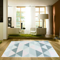AU Geometric Floor Rugs Trellis Lounges Moroccan Kitchen Living Room Carpet Mat