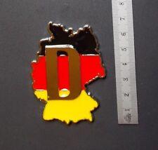 Deutschland Metall-Emblem Flagge Landkarte Car-Styling