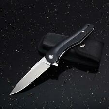 High end Folding Knife Camping Survival Hunting G10 Handle F18-HT Bearing Flip
