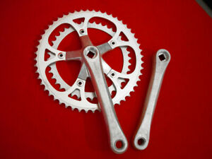 Sakae SA 170 mm Crankset 52 / 40 Double Alloy Used
