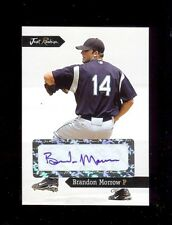 BRANDON MORROW Los Angeles Dodgers 2006 Just Rookies Certified AUTOGRAPH RC