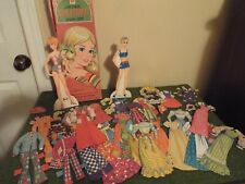 Quick Curl Barbie Paper Doll with outfits