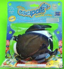 MANTA RAY (#68371) Seapals by Russ Plush Finger Puppet w/ Secret Web Codes NIP