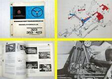 orig Reparaturanleitung IHC 323 353 423 Regelhydraulik Werkstatthandbuch 1970