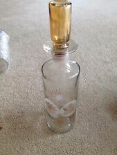 Old Fitzgerald Prime 4 Seasons Decanter Bourbon Whiskey Bottle
