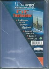 (500) Ultra Pro 4x6 Clear Hard Rigid Toploaders For Cards or Photos - BRAND NEW