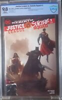 Justice League vs. Suicide Squad (2016) #1 CBCS 9.8 Rare Mattina B