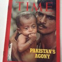 Time Magazine Pakistan's Agony August 2, 1971 071917nonrh