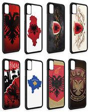 iPhone Silikon Slim Handyhülle Case Cover Schutz Albanien Fahne Flagge