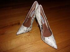Women's Classic Steve Madden Proto Snakeskin Stiletto Heels Pumps Size 5.5M