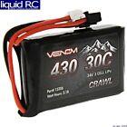 Venom Racing 15206 7.4V 430mAh 2S 30C LiPo Battery JST-PH 2.0 SCX24