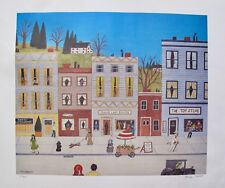 MIKE FALCO SMALLTOWN USA Hand Signed Limited Edition Lithograph Art