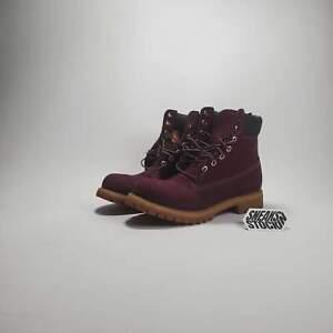 """Timberland 6"""" Premium Boot 'Maroon'"""