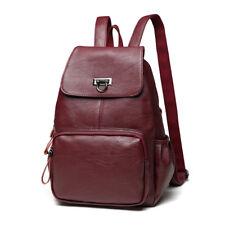 New Genuine Leather Girls Women's Backpack Travel Shoulder Bag Schoolbag Bookbag