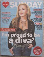 Anastacia – Love Sunday magazine – 26 February 2017