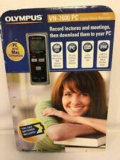Olympus Digital Voice Recorder 2 GB Model VN-7600 PC NEW IN PACKAGE
