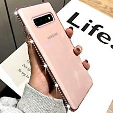 COVER per Samsung Galaxy S10 A50 A70 A40 A10 A30s Plus Silicone Strass Gioielli