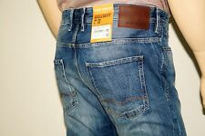 NEU - Hugo Boss Orange 24 Barcelona - W31 L34 - Blue Jeans Modern Straight 31/34