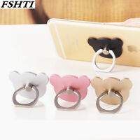 Teddy Bear Finger Grip Ring Holder Stand Mobile Phone for iPhone Samsung 7 8 X