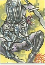2016 Topps Mars Attacks Occupation - Sketch Card by Marck Labas