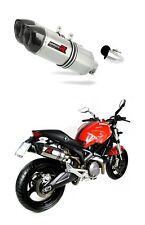 Uitlaat muffler exhaust DOMINATOR HP1 DUCATI MONSTER 696 08-14 + db killer