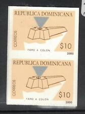 Dominican Republic SC 1371 Imperf Proof Vertical Pair MNH (2dwr)