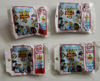 Mattel Disney Pixar Toy Story 4 Series 2 Lot Of 4 Mini Blind Bags New