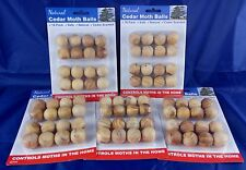 2 X 16pk Natural Cedar Moth Balls Repellent Wardrobe Drawers Mothballs Protect