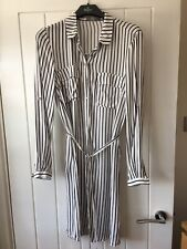 Oasis striped shirt dress size 10