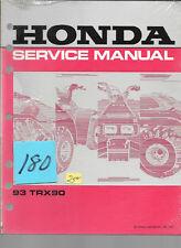 Honda TRX90  1993  #180 Service Manual