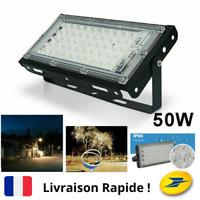 Spot Lampe Projecteur Extérieur Puissant 50 LED Eclairage Maison Jardin Terrasse