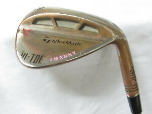 Used RH TaylorMade Hi-Toe Single 56* Sand Wedge - Stiff S Flex Steel