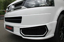 VW Transporter T5.1 Meduza RS5 Front Bumper Lip Body Kit Caravelle Multivan