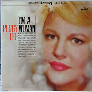 PEGGY LEE - I'M A WOMAN - CAPITOL LP - STEREO PRESSING