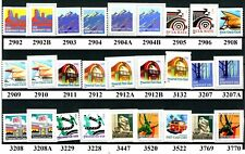 American Culture Complete Set of All 28 Coils MNH Scotts from 2902 to 3770