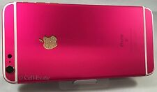 Apple iPhone 6S Plus - 64GB - Custom Hot Pink 24K 24ct Gold Crystal