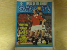 September 1972, SHOOT, Bobby Charlton, Dave Lennard, Malcolm Macdonald, Arsenal.