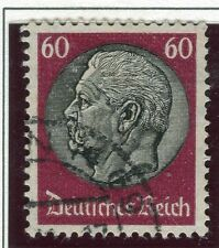GERMANY;    1934 early Hindenburg issue fine used 60pf. value