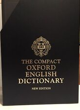 Compact Edition of The Oxford English Dictionary New Edition - No Magnifier