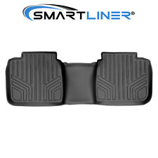 Smartliner Custom Fit 2nd Row Black Floor Mat Liner For 2012 2017 Toyota Camry Fits 2012 Toyota Camry
