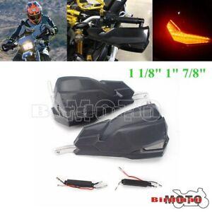 Motorcycle Hand Guard Handguard Shield Protector For 22mm 25mm 28mm Handlebars