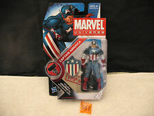 "Marvel Universe CAPTAIN AMERICA 3.75"" Action Figure Series 2 008 New 2009 HASBRO"