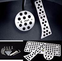 für Smart Auto Pedalen Gaspedal Pedal Smart Embleme Styling 3PCS