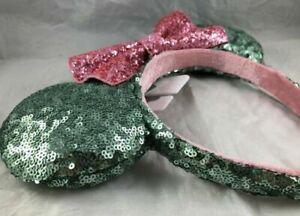 Gingerbread Christmas Holiday 2020 Mickey Minnie Ears Bow Headband