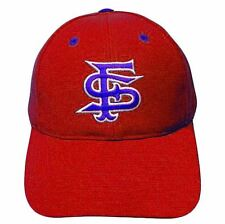 NCAA FITTED CAP HAT SIZE 6 7/8 FRESNO BULLDOGS RED WOOL