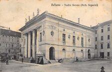 2348) BELLUNO, TEATRO SOCIALE (ARCHITETTO SEGUSINI). ANIMATA. VIAGGIATA NEL 1915