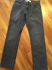 Levi's 511 Skinny 28x28 16Reg Grey Stonewashed Jeans Boys/YA, excellent cond