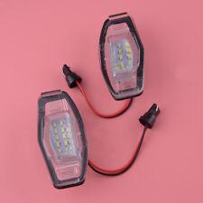 Für Honda Accord Civic Sedan13-15 LED 2W-Kennzeichenbeleuchtung Ersatz Weiß Paar
