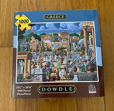 Dowdle 1000 Piece Puzzle - GREECE, Excellent Condition